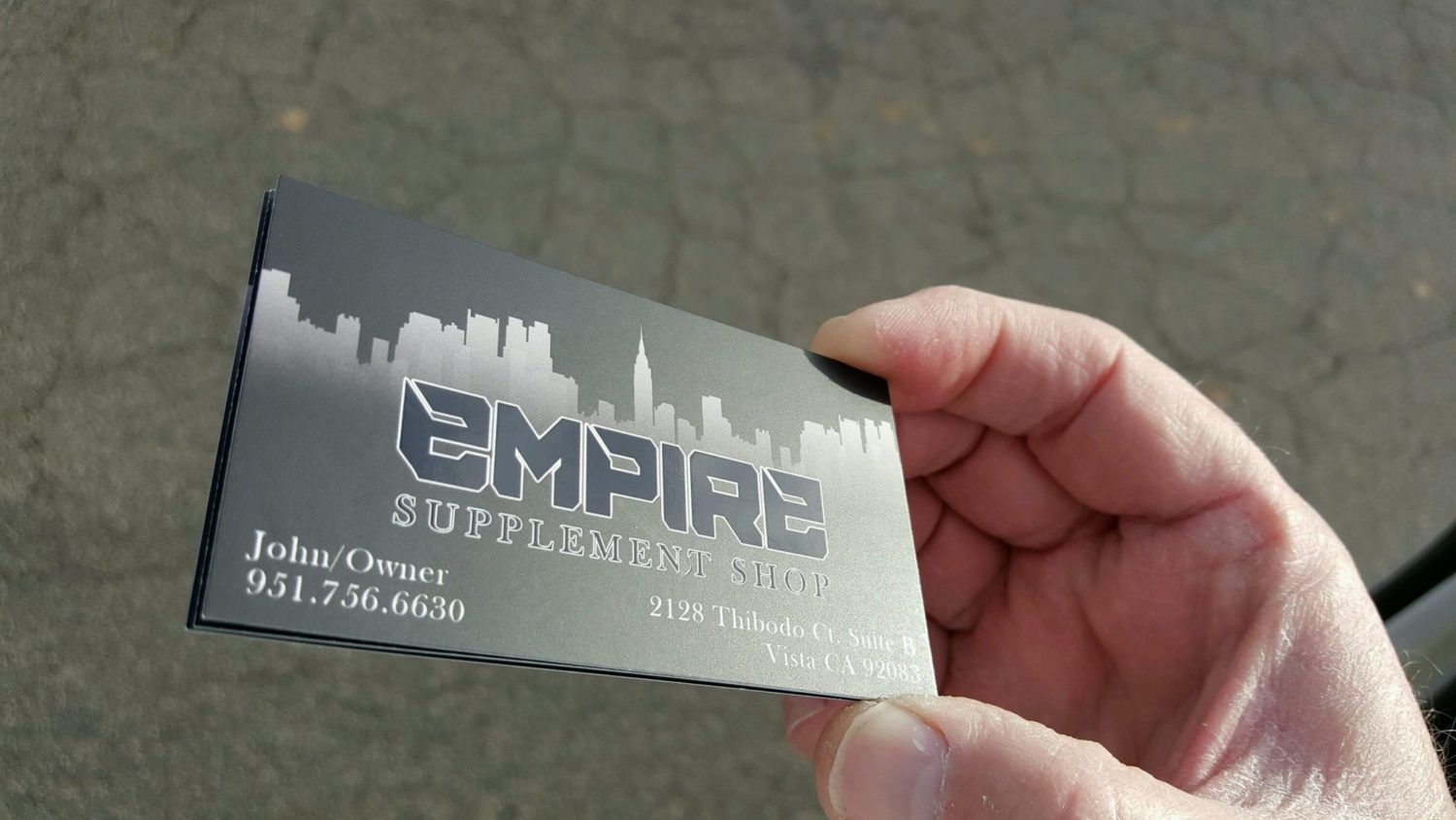 16pt Spot UV and Matte Business Cards – Discount Business Cards